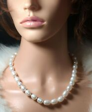 Handmade Baroque Pearl Necklace