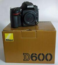 NIKON D600 Vollformat DSLR 24 Megapixel ca. 6.000 Auslösungen 1a Zustand !
