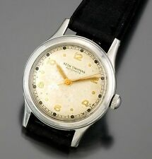 Stainless Steel Watch Ca1960s Seth Thomas 17 Jewel Automatic