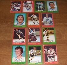 1973-74  *OPC*  ST. LOUIS BLUES  Team Set  ( LOT OF 13 diff. )   O-Pee-Chee