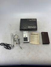 Sony micro transcriber with remote box and manual Parts Or Repair