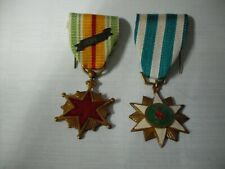 Rvn Vietnam Campaign and Wounded (w/ 1964 ribbon) Medals Vietnamese