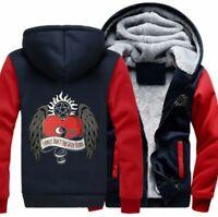 2d9dc83b HOT Supernatural Dean Thicken Hoodie Winter Fleece Coat Unisex Sweatshirt  Jacket