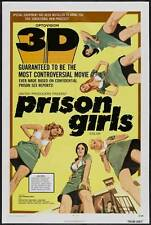 PRISON GIRLS Movie POSTER 27x40 Uschi Digard Ric Lutze Angie Monet Candy Samples