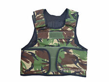 DPM/Woodland Body Armour Over Cover Vest - Size MEDIUM - Genuine British Army