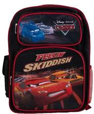 Disney Cars Lightning McQueen DJ Boost Wingo Large School Backpack