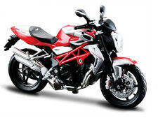 2012 MV AGUSTA BRUTALE 1090 RR RED/SILVER BIKE 1/12 MOTORCYCLE BY MAISTO 11097
