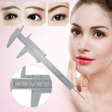 Reusable Semi Permanent Eyebrow Stencil Makeup Microblading Measure Tattoo Ruler