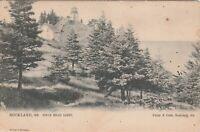 Vintage Postcard Owl's Head Light, Rockland, Maine -RPPC
