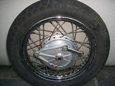 "Vintage Honda Rear Wire Wheel Rim 1980-82 CB650 OEM MT 2.50X17"" Hub Brake Panel"