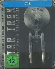 Star Trek Three Movie Collection Blu-ray Steelbook Limited Edition Neu OVP Seale