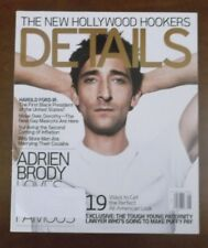 DETAILS MAGAZINE AUGUST 2004 ADRIEN BRODY  THE NEW HOLLYWOOD HOOKERS
