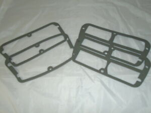 Triumph TR7 TR8 ** SET OF 4 REAR LAMP GASKETS ** GREAT QUALITY ! Inner and Outer