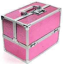 Glamorous Vanity Box PINK Folding / Make up Box/ Premium Quality Jewellery Box