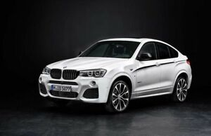 BMW F25/F26 M Performance Kidney Grilles (RRP £134) 51712337762/3