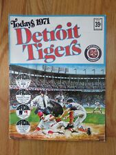 1971 DETROIT TIGERS Team Stamp Album AL KALINE MICKEY LOLICH NORM CASH NORTHRUPP