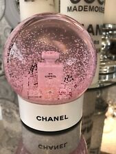 More details for chanel pink snow globe