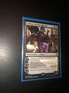 LILIANA, DEATH'S MAJESTY Mystery Booster/the List Planeswalker Magic MTG CARD