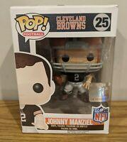 """Funko Pop!  Cleveland Browns #25 """"Johnny Manziel"""" Vinyl Figure"""
