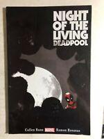 NIGHT OF THE LIVING DEADPOOL (2014) Marvel Comics TPB 1st VG+