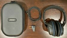 Bose QuietComfort 25 QC25 Noise Cancelling Over the Ear Headphone w/Mic - Black