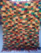 Moroccan Boujad tribal woollen rug    137 x 100cm