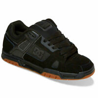 DC Shoes Men's Stag Low Top Sneaker Shoes Black/Gum (BGM) Footwear Skateboard...