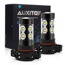 2x 50W CREE PSX24W 2504 High Power White LED Daytime Running Fog Light Bulbs