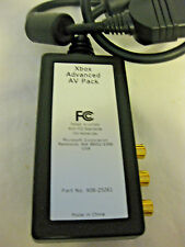 XBox AV Adapter Official Microsoft Xbox Advanced AV Pack Adapter X08-25261