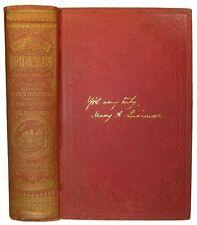CIVIL WAR Army Nurse Memoir HOSPITAL NURSING SLAVERY UNION CONFEDERATE Antique