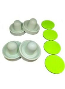 Air Hockey Mallets / pushers (4)(Dynamo) with 4 large Pucks!