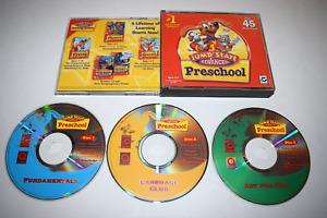 Jump Start Advanced Preschool 2003 PC Mac CD-ROM Edutainment Discs w/ Case