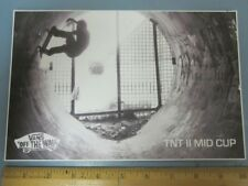 VANS skateboard BMX surf TNT II Mid BIG Dealer Sticker Flawless New Old Stock