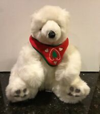 White Christmas Teddy Bear -Frederick