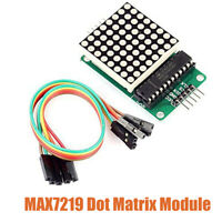 MAX7219 Serial Dot Matrix LED Display Control Module For Arduino PIC Raspberry