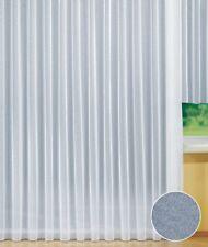 Gardinenstore / Fensterstore, Vorhang in Weiß mit Kräuselband, BxH 300 x 245 cm
