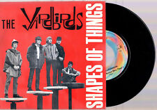 """THE YARDBIRDS SHAPES OF THINGS + YOU'RE A BETTER MAN A THAN I 1999 7""""45 GIRI"""