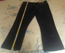 Levi's 646 originale jeans uomo Tag.52 W36 BLU scuro Levis Man's Vintage