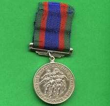 Canada WW2 Voluntary Sterling Silver Service Medal 1939 - 1945