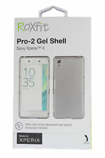 (RV411) JOBLOT of 40 x Roxfit Pro-2 Gel Shell Cover for Sony Xperia X