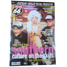 REVISTA RUTA 66 #206 (Junio 2004) . southern culture on the skids maquina!