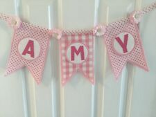 CATH KIDSTON Personalised  BUNTING  Laura Ashley  Christening gift baby gift