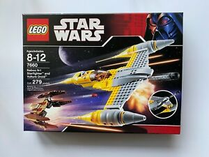 LEGO STAR WARS 7660 NABOO N-1 STARFIGHTER AND VULTURE DROID FACTORY SEALED