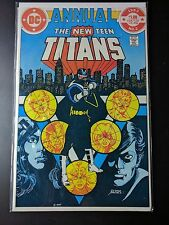 New Teen Titans #2 First Appearance of Harbinger and Vigilante