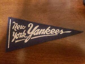 1950s New York Yankees mini pennant nice!