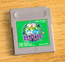 Pokemon Green Version Nintendo Game Boy Japan version NEW save battery installed