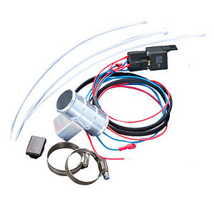 Revotec Electronic Fan Controller - In Line Fitting For 35mm Bore Hose