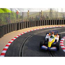Slot pista Scenics fk2 Esgrima Kit Recto staunchions-Para Scalextric