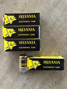 5687WA Sylvania N.O.S tube matched pair