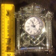 Galway Crystal Lynch Carriage Clock - One Of A Kind St. Patricks Grammar School